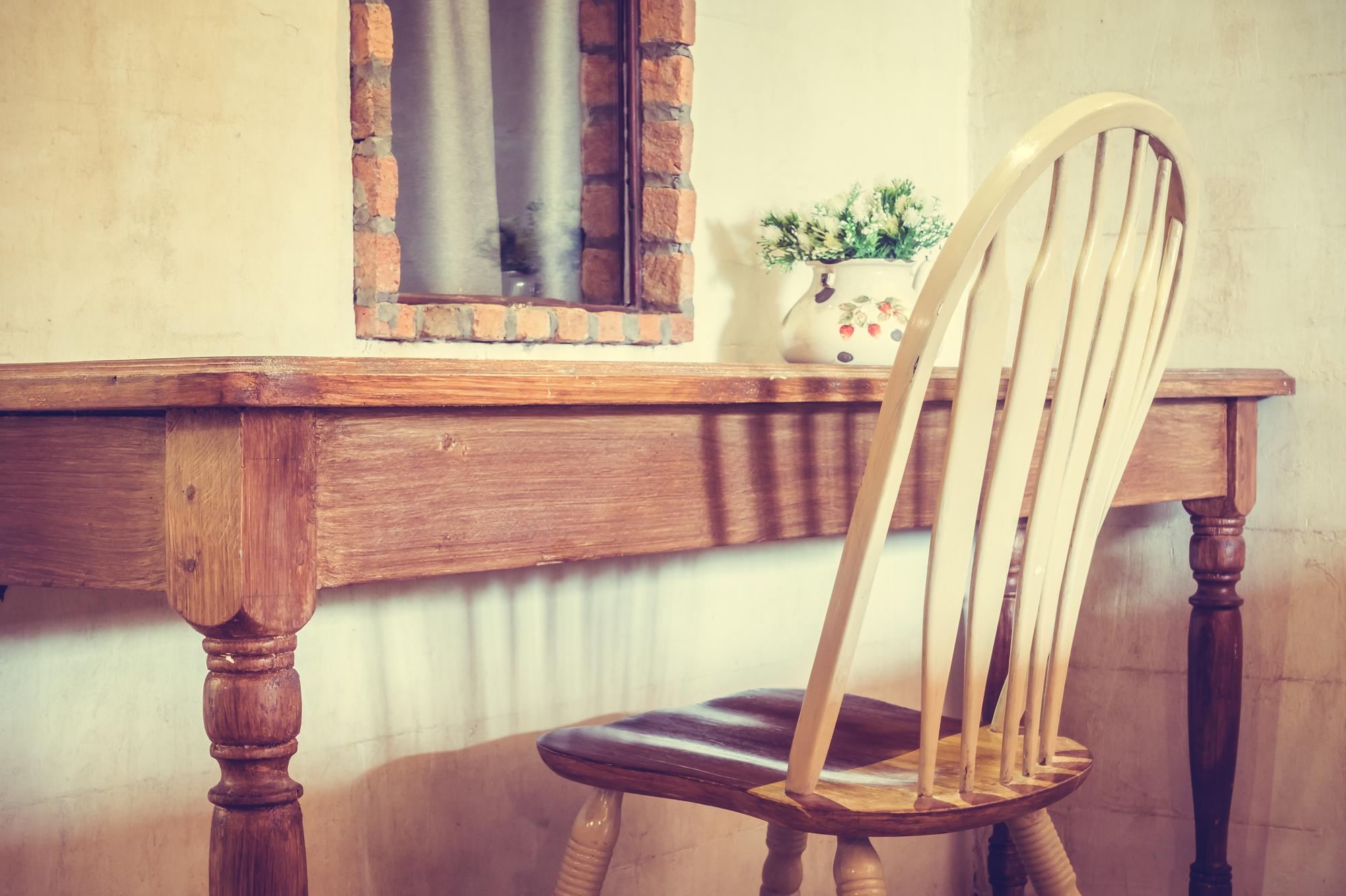 decocración muebles rústicos y vintage